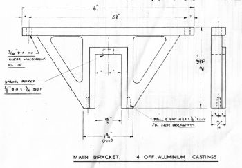 Truck Axle Set Drawing